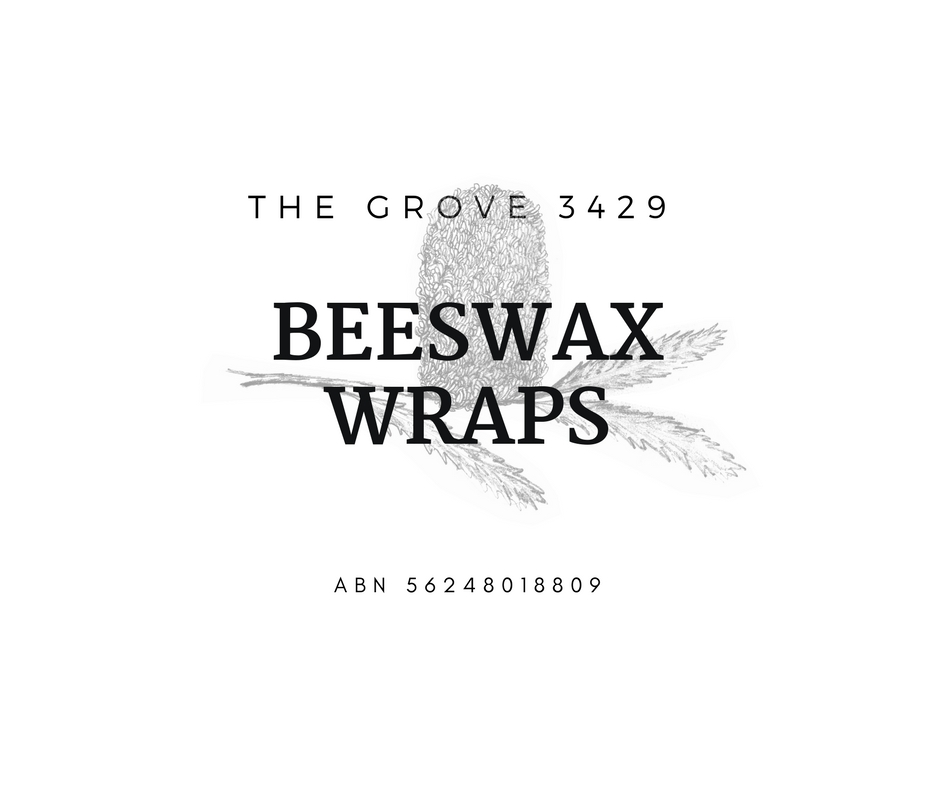 The Grove 3429   Local Sunbury maker of beeswax wraps. These reusable food cloths are a sustainable alternative to plastic wrap and last for many months. Use them to wrap around food, over bowls or in your lunchbox and keep your food fresh whilst also reducing plastic waste going to landfill.  Local workshops are regularly held to teach you how to make and maintain your own beeswax wraps. An experienced secondary teacher, I also conduct school incursions and workshops to support students and wider school communities in their waste reduction practices.