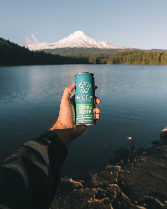 The adventures never end with a can in hand 🙌🏼🏔 #AdventureWithUs #MateBros #YerbaMate #SimplyEnergy