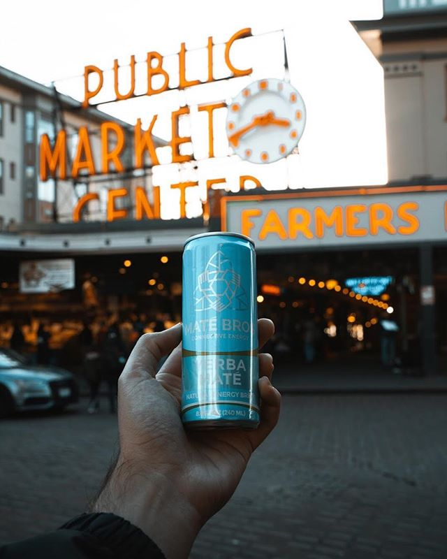 Real. Natural. Ingredients. We pride ourselves on being one of the only energy beverages without artificial flavors and sweeteners!  #MateBros #YerbaMate #SimplyEnergy #FarmersMarket