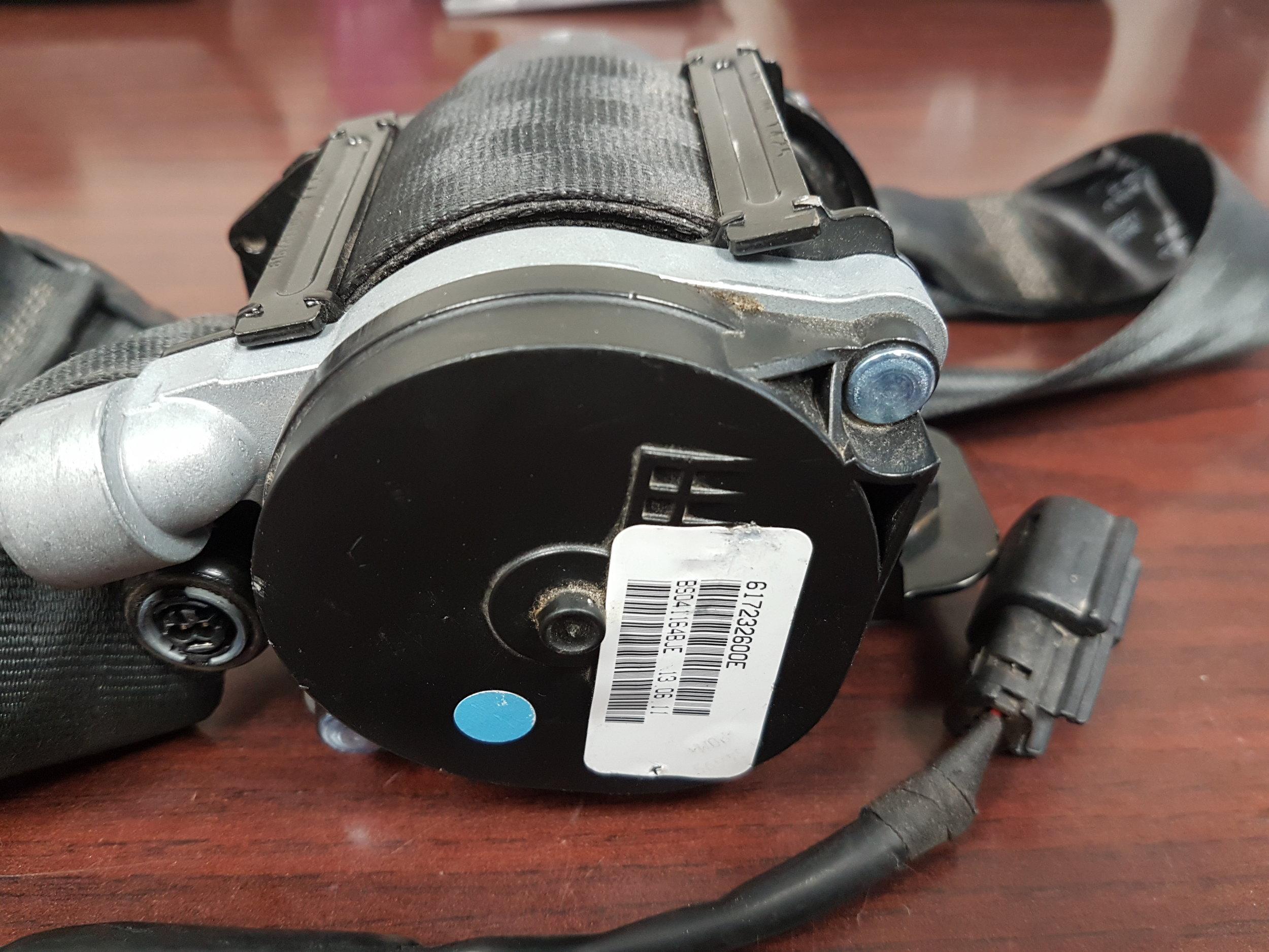 2012 Ford Focus Passenger Seat Belt Airbag Master Tech Wiring