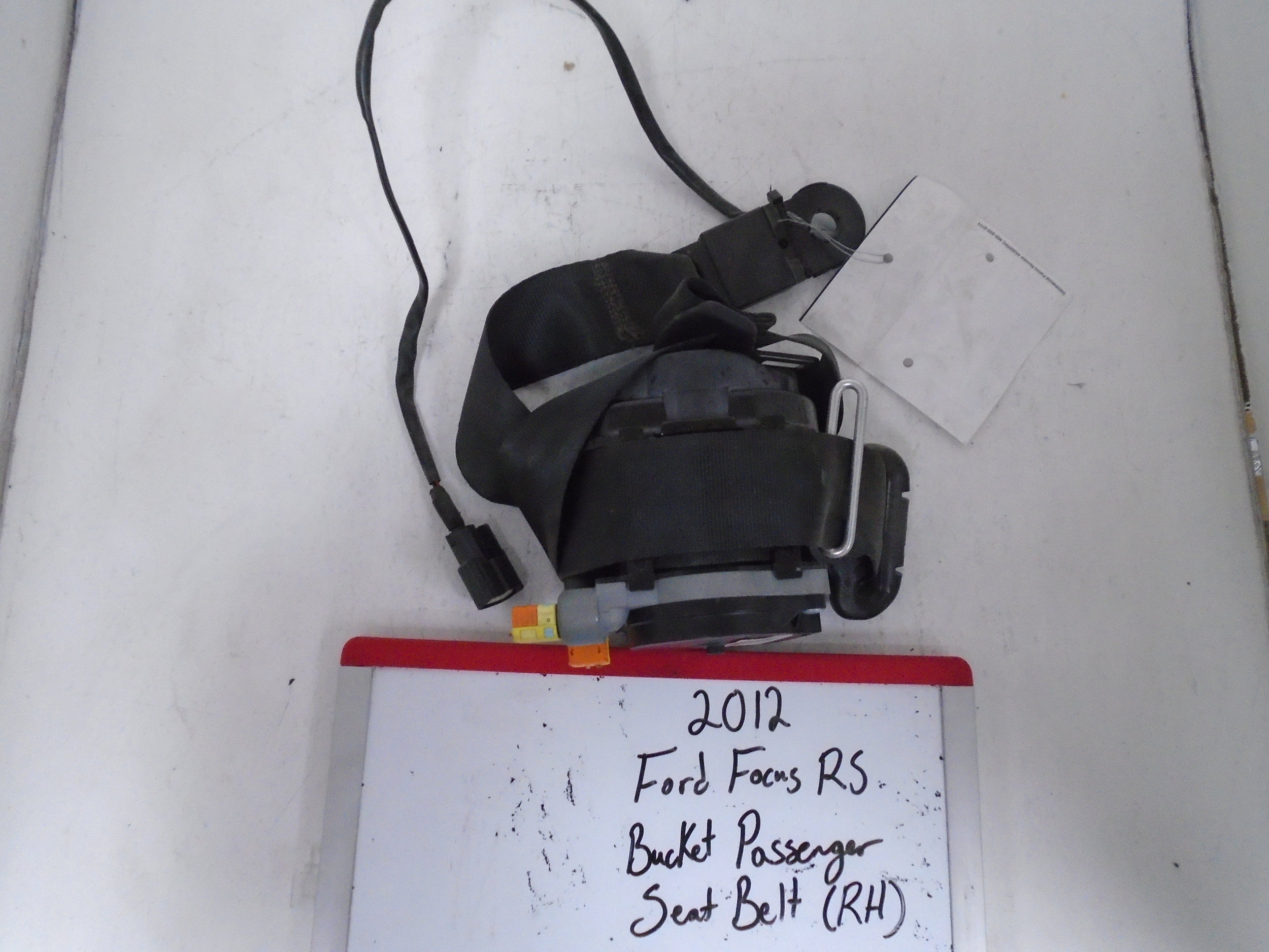 2012 Ford Focus Rs Bucket Passenger Seat Belt Right Airbag Wiring