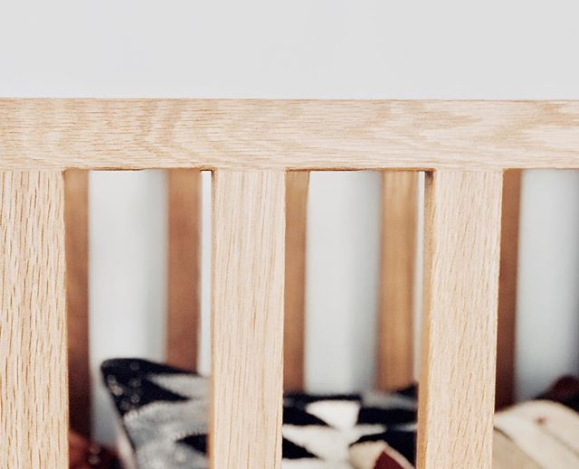 That Solid Oak Difference//• . Close up of the Mudita Cot showcasing beautiful, natural timber grains and giving each pieces it's own unique character. . . . . . . #bhavananook #muditacot #handmadefurniture #babysbed #nurserydesign #sydneymums #designernursery #hyggehome #madewell #oak #childrensfurniture #babyboy #babygirl #kidsroom #newbaby #newborn #consciousconsumer #sustainabledesign #styledhome #designerfurniture #shoplocal
