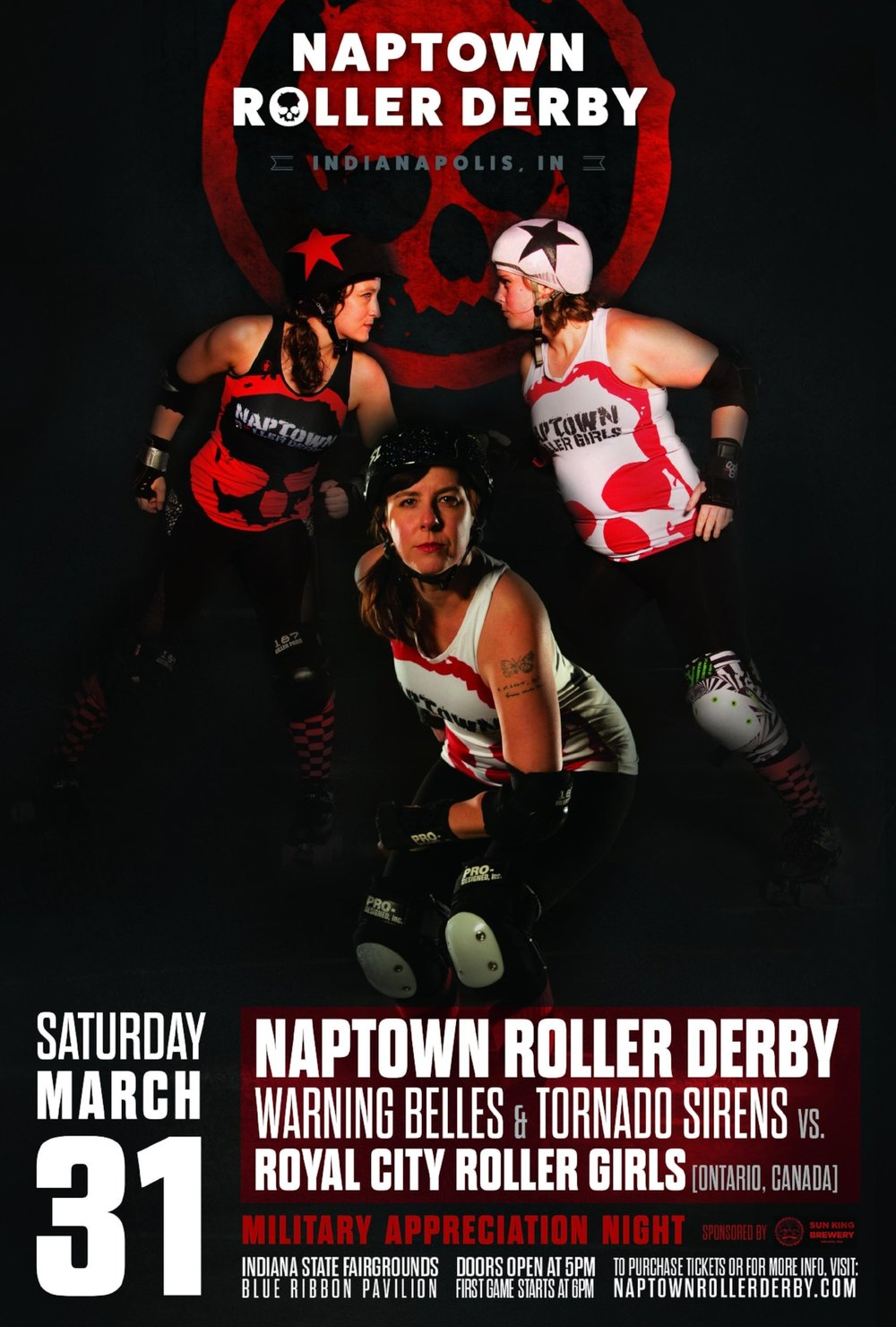 March 31, 2018 - Naptown vs. Royal City!