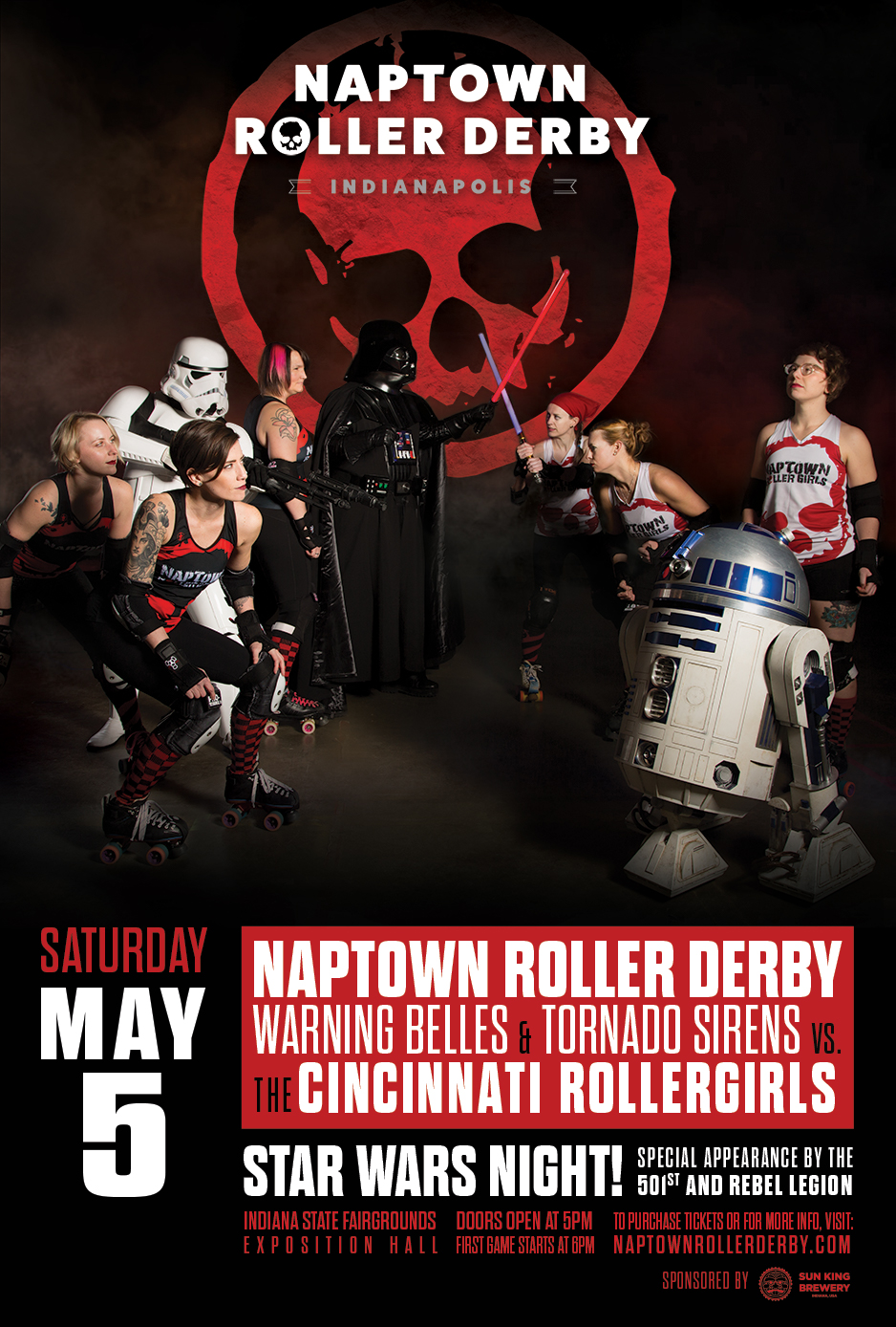 May 5, 2018 - Naptown Star Wars Bout!