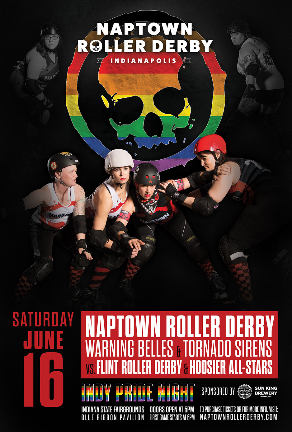 June 16, 2018 - Naptown's 5th Home Bout!