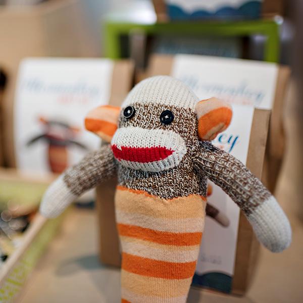 Monkey Sock Monkey