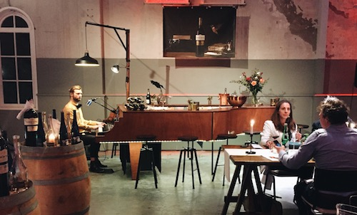 The Piano Bar - Chefkok Ron Blaauw - Diner