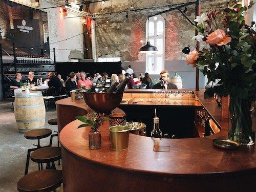 The Piano Bar - Amsterdam Wine Festival - Chefkok Ron Blaauw