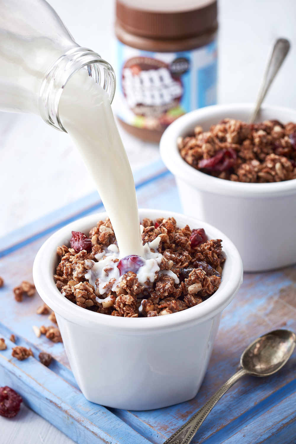 Homemade Nutty Choc Granola