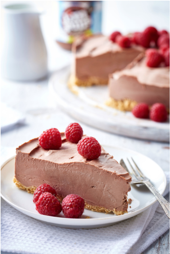 No Added Sugar Chocolate Hazelnut Cheesecake