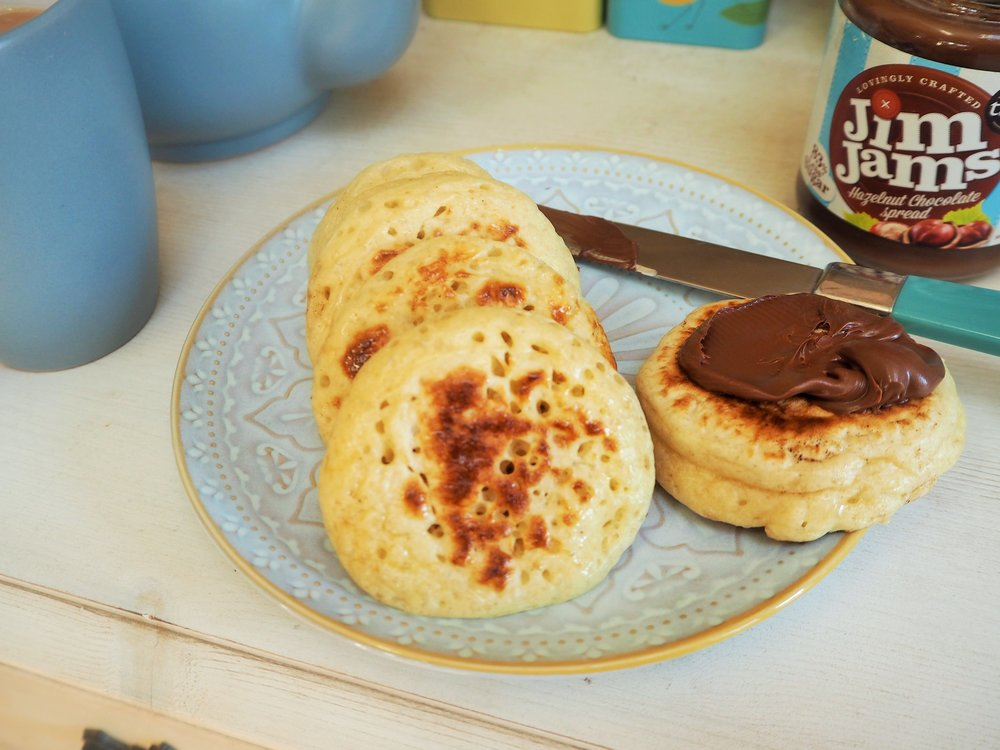 The Pikelet - A pancake/crumpet hybrid.