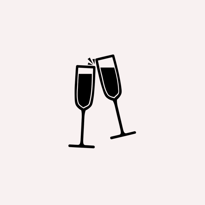 Drinks & Canape Reception - After your ceremony, and whilst you are having your wedding shoot, your guests will be treated to a short drinks reception at the venue.Guests will mingle over specially prepared canapes and a glass of prosecco. Extra drinks/food may be added.