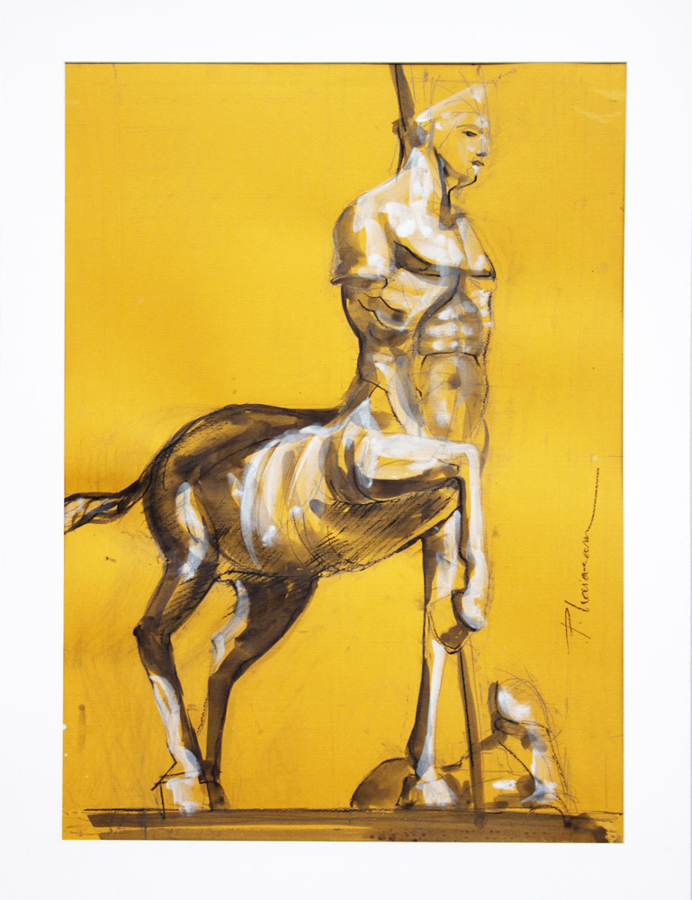 Centaur_Paula Craioveanu_ink on paper_70x50cm_28x20in.jpg