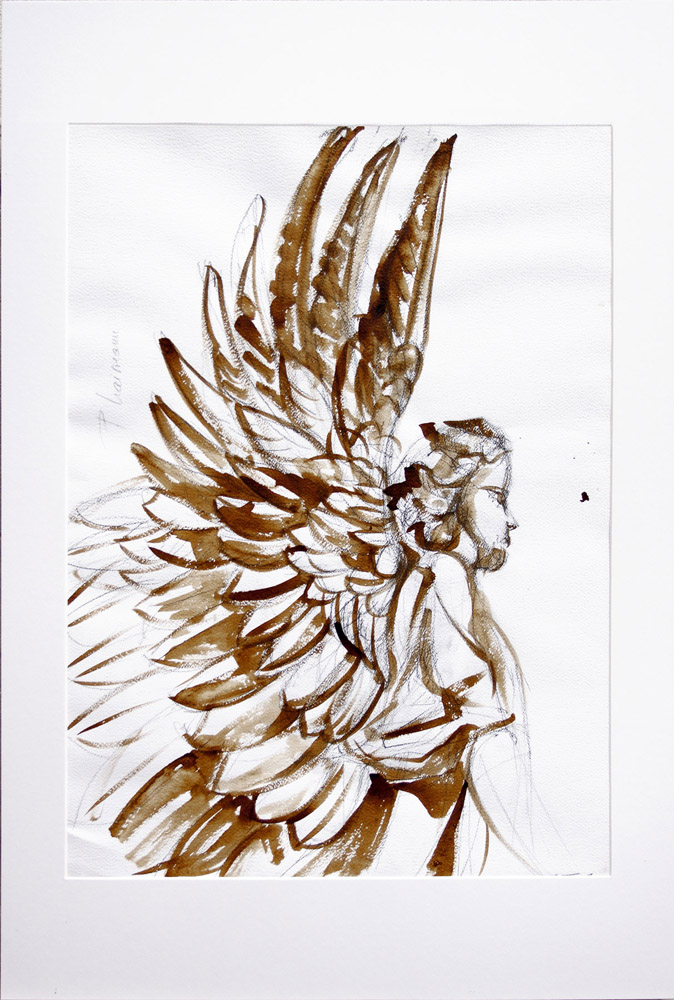 Guardian angel_Paula Craioveanu_ink and graphite and paper_7-x50cm_cm_28x20in.jpg