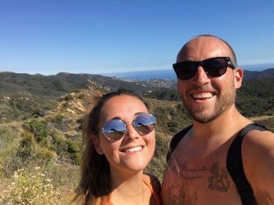 4-mile hike loop to Eagle Rock in Topanga Canyon State Park