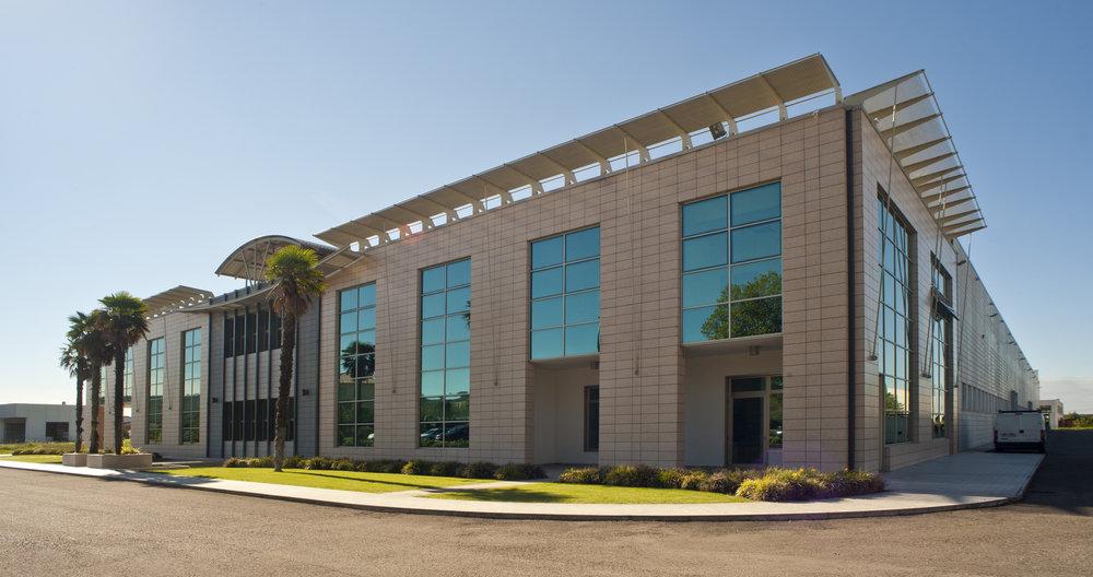 Vegam's industrial plant