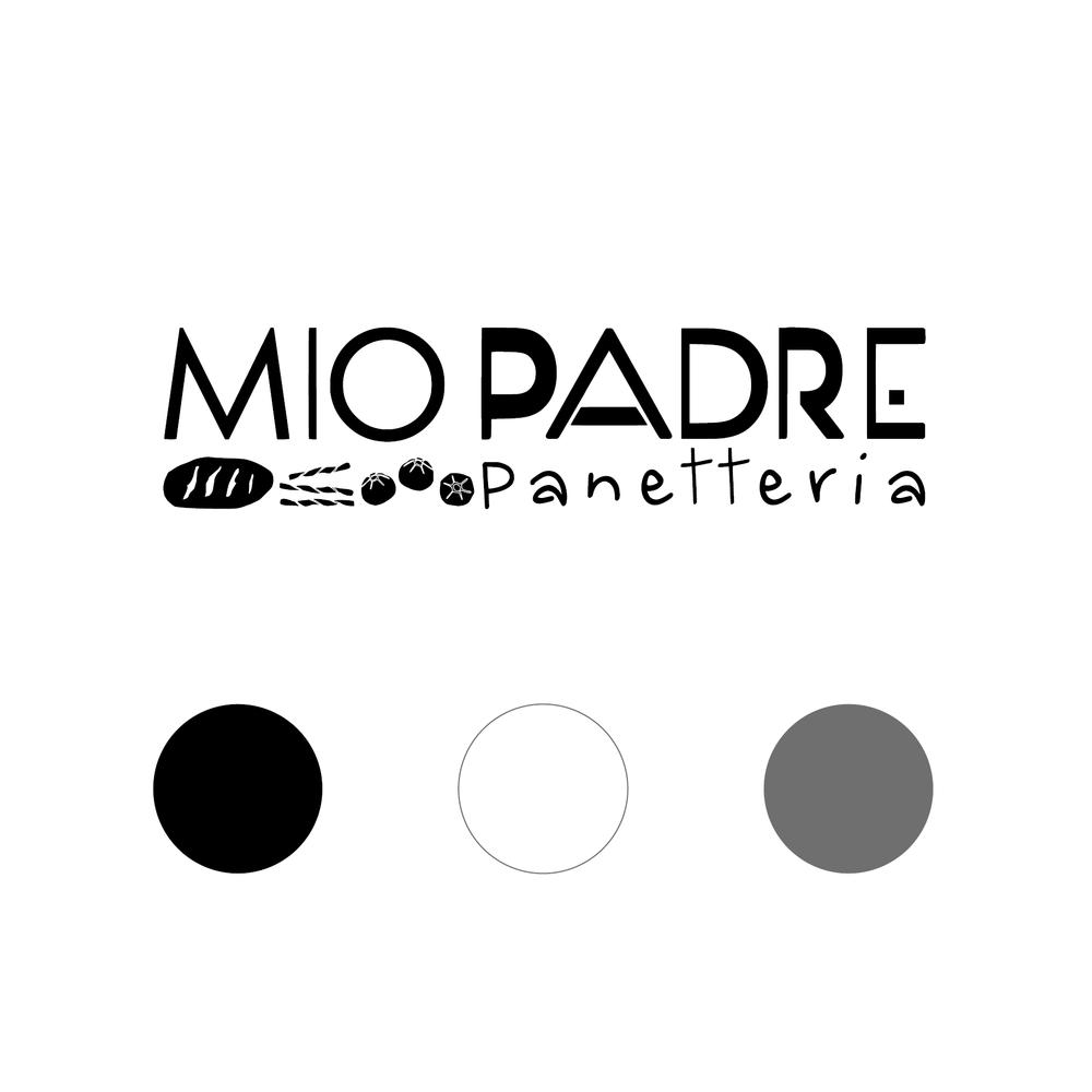 logo Panetteria mio Padre color palette