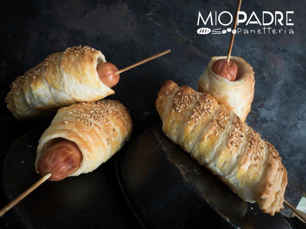 Panetteria mio Padre foto shooting - panetteria - arte bianca - pasticceria - foto food - Assisi - Umbria - wurstel