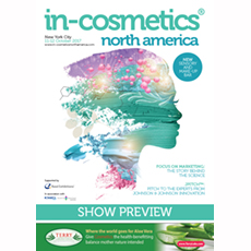 in-cosmetics North America Preview   in-cosmetics@showtimemedia.com