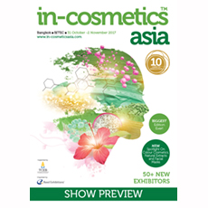 in-cosmetics Asia Preview   in-cosmetics@showtimemedia.com