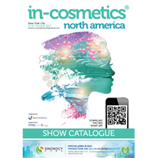 in-cosmetics North America Catalogue   in-cosmetics@showtimemedia.com