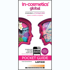 in-cosmetics Global Pocket Guide 2018   in-cosmetics@showtimemedia.com