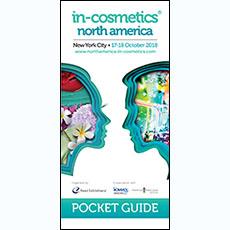 in-cosmetics North America Pocket Guide 2018   in-cosmetics@showtimemedia.com