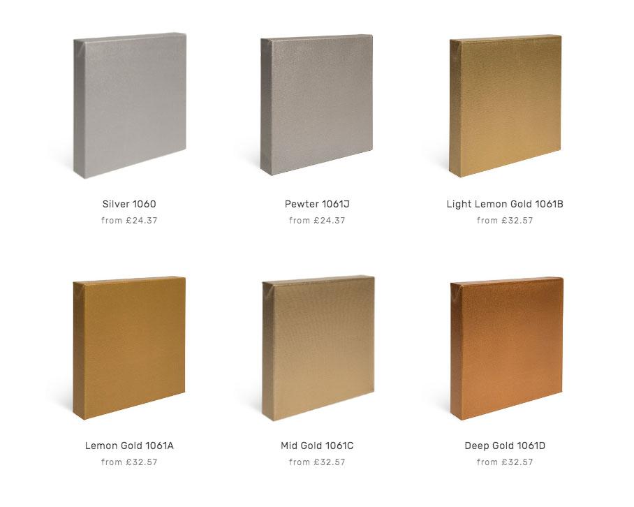 Metallics Acrylic Palette