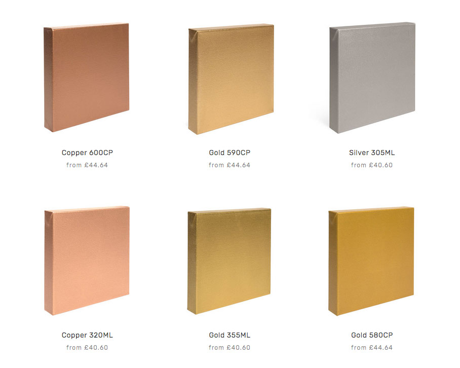 Metallic Polyurethane Palette