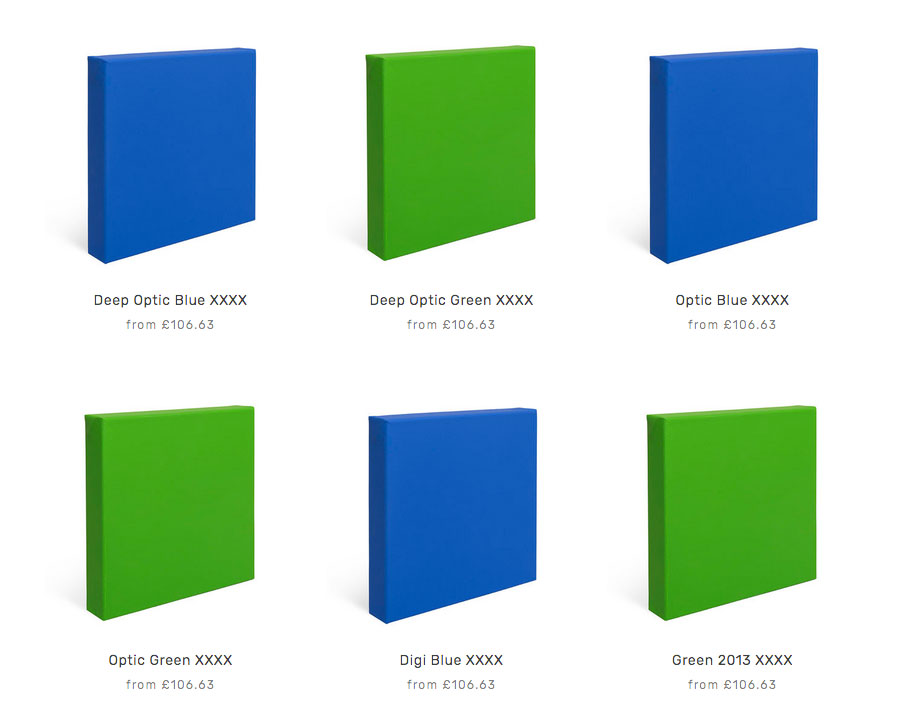 Blue & Green Screen VFX Paints