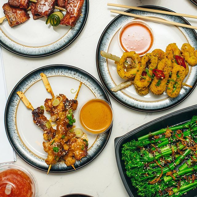 Enjoy our Pan Asian inspired street bar snacks and skewers for some sticky licky finger licking good feasting! All #GlutenFree and all #DairyFree Get us on Deliveroo daily from 11:30 🚴‍♂️ #Sinchow #ThatsHowWeRoll