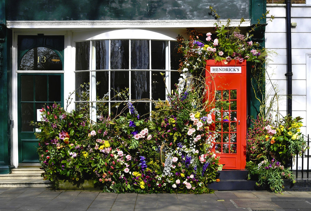 THE LAUNCH EVENT FOR HENDRICK'S MIDSUMMER SOLSTICE GIN, SOHO SQUARE, 28TH MARCH 2019