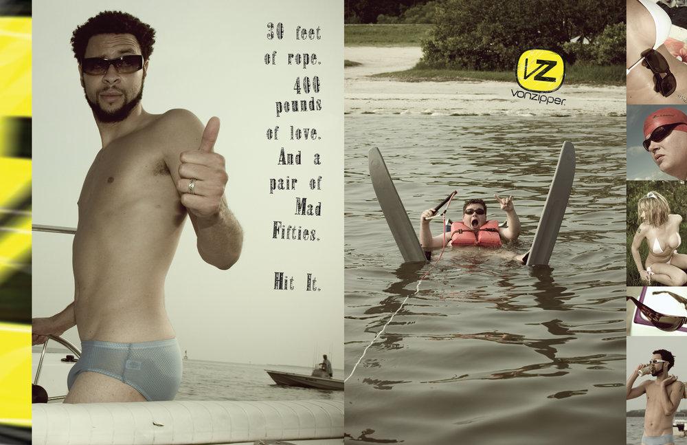 VonZipper | branding, print