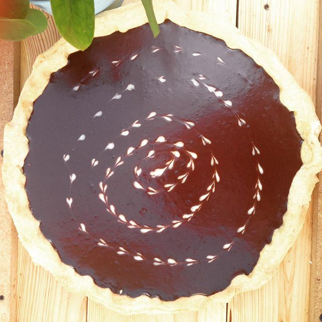 Choclate Pie home made