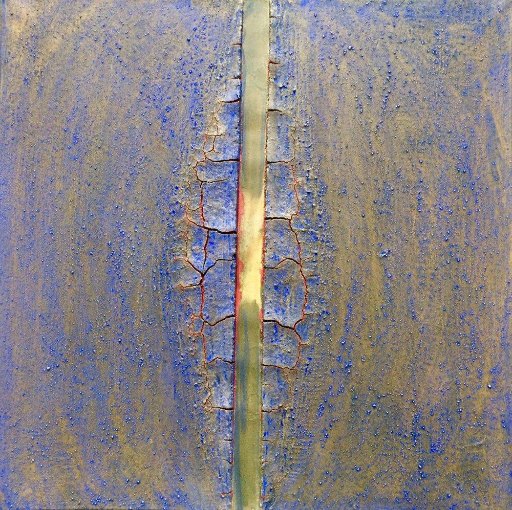 Shekaf, 2016, technique mixte sur toile, 80 x 80 cm..jpg