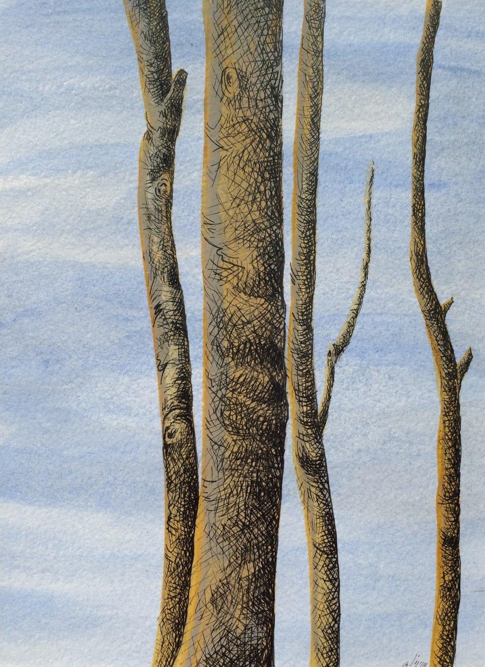 Acrylique & Plume sur carton, 24 cm X18 cm.jpg