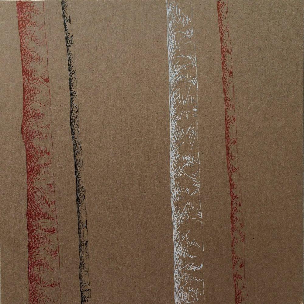 Plume sur carton, 17-5 cm X 17-8 cm, 2016.jpg