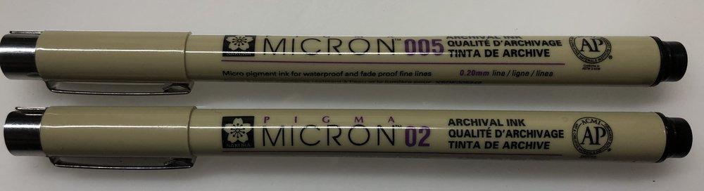 microns