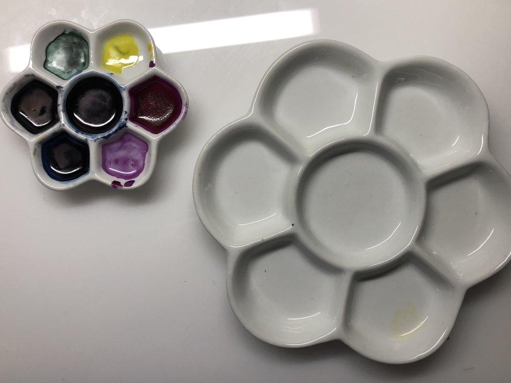 Palettes: - My advice: get Porcelain