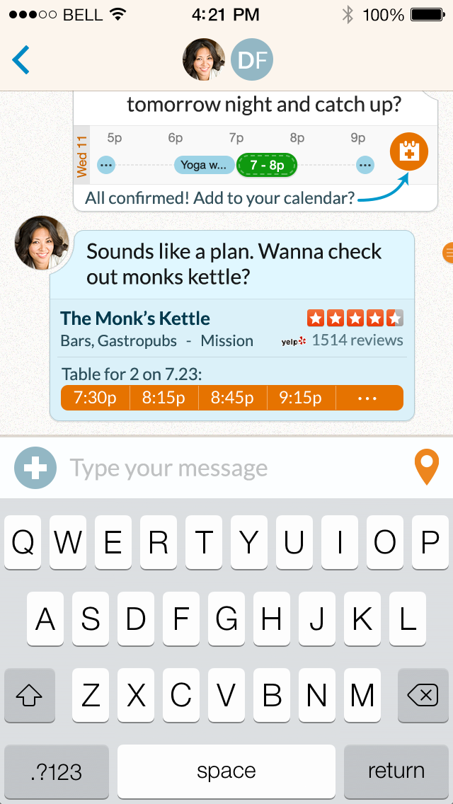 Scheduling & Restaurant Enhancements