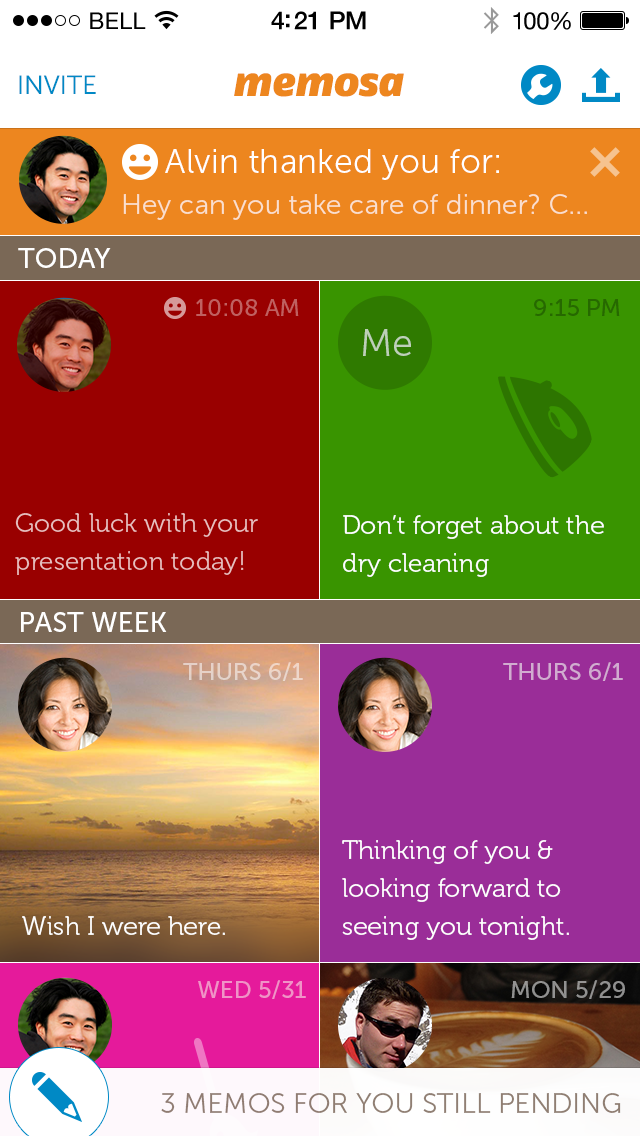 Inbox with Reminder Focus