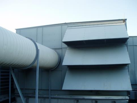 Heat recovery units (HRUs) like this one are being used more regularly now.