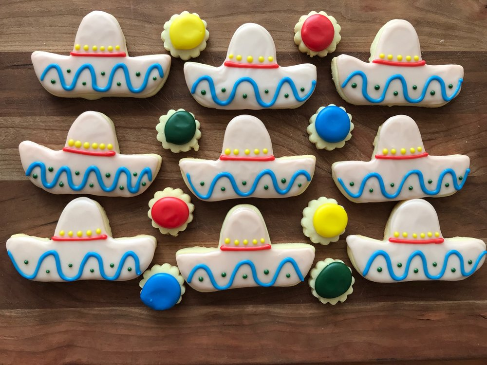 Decorated Sugar Cookies -