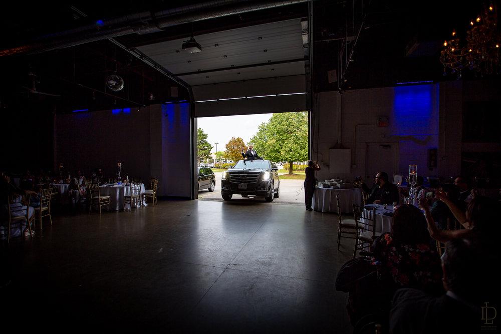 The factory lounge same sex wedding photos