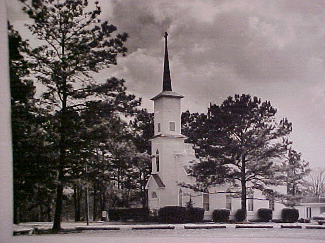 Our first Church Building, c. 1964