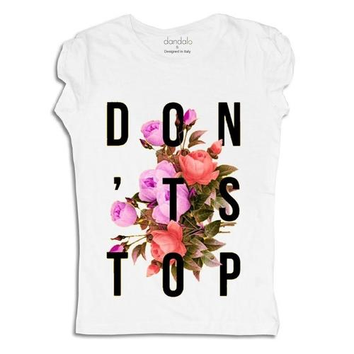 """Don't Stop"" T-Shirt by Donna"