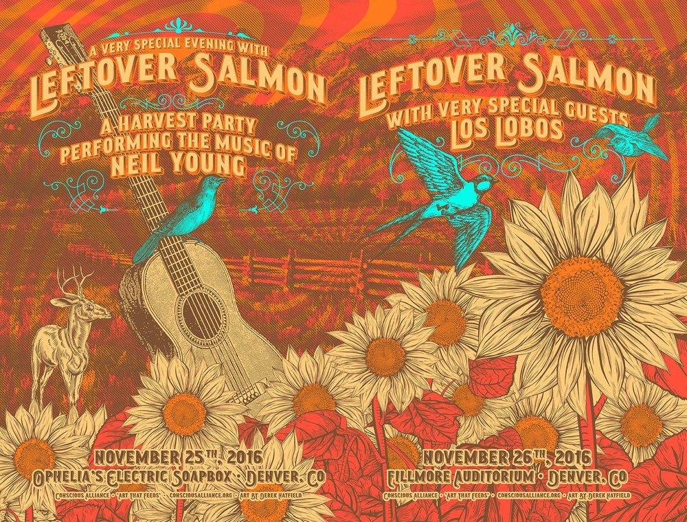 Leftover Salmon - 11.25,26.2016