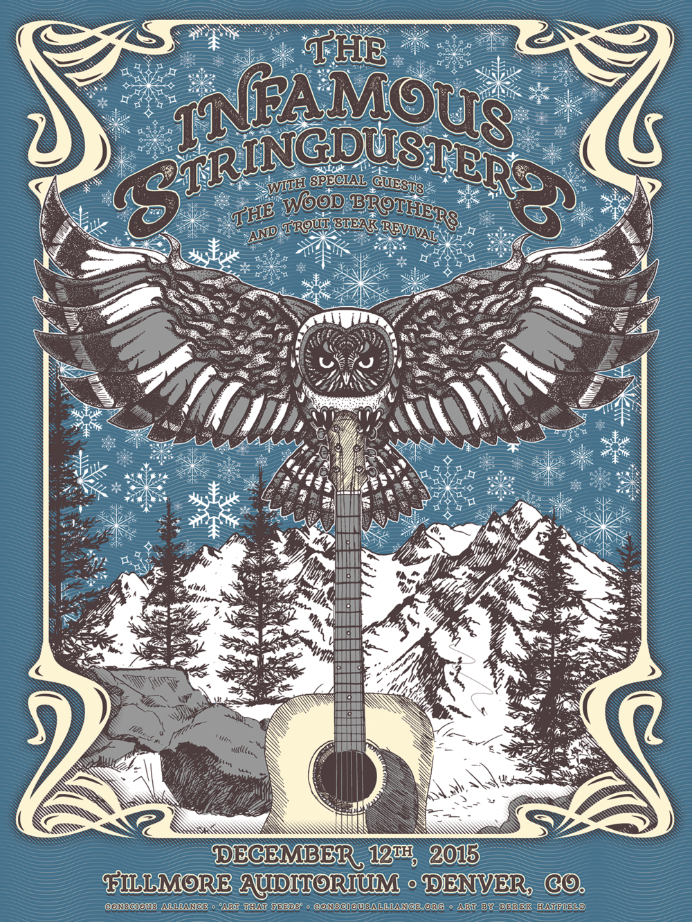 Infamous Stringdusters - 12.12.2015