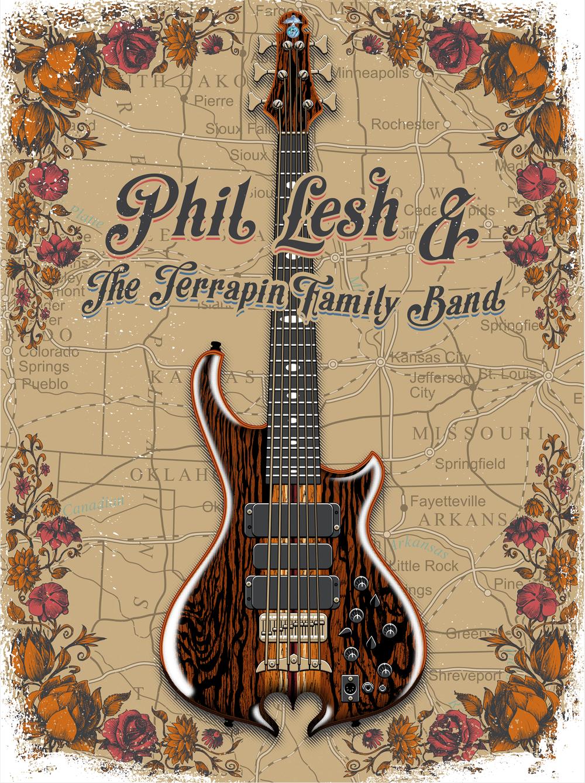 Phil Lesh T-shirt Art
