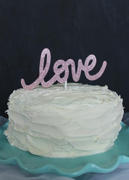 Cake Topper - Love (1)